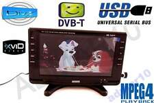"9"" inch 12V 12 & 240 Volt HD LED TV FREEVIEW CARAVAN MOTORHOME,USB,"