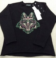 Zadig & Voltaire 100% Cashmere Wolf Jumper Sz S NEW RRP £315