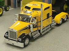 "1/64 DCP YELLOW/BLACK W900 KENWORTH W/ 86"" AEROCAB"
