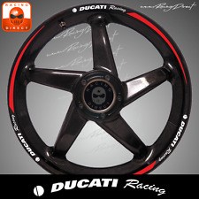 Liseret sticker jante DUCATI Racing Decal sticker aufkleber liseré W020A