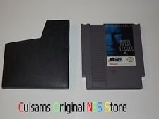ORIGINAL NINTENDO NES GAME TOTAL RECALL CLEAN & TESTED WITH SLEEVE & GUARANTEE
