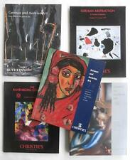 5 Auction Catalogs Including German and/or Austrian Art Christie's Sotheby's NR