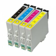 4 Compatible Epson Stylus 'Teddy Bear' T0611-4 (T0615) Non-oem Ink Cartridges