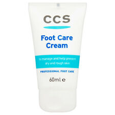 CCS 10% urea Foot Care Cream 60ml Dry, hard, Rough, Cracked heels callus