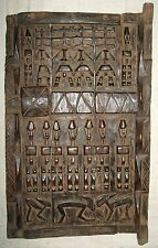 African Dogon Granary Door authentic sculpture about 15 x 21 inches sfdd14