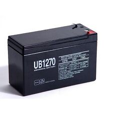 UPG 12V 7.2Ah SLA Rechargeable Battery for Security Systems 12V 7AMP