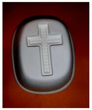 Cool  CROSS   Frit Stained glass fusing   kiln  jewelry  mold