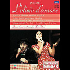 Donizetti L'elisir d'amore (DVD, 2005, 2-Disc Set, DVD/CD Combo) All Regions NEW
