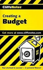 CliffsNotes Creating a Budget Bailey, Mercedes Paperback