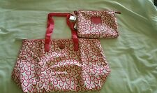 New Coach Heart F77539 Getaway Packable Weekender Large Tote Purse Bag ~ NWT