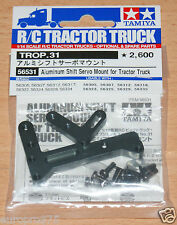 Tamiya 56531 Aluminum Shift Servo Mount for Tractor Truck (Scania/MAN/Actros)