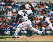 BRUCE RONDON signed DETROIT TIGERS 8x10 photo *MIGUEL CABRERA*