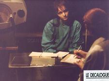 KRZYSZTOF KIESLOWSKI DEKALOG LE DECALOGUE 1989 VINTAGE PHOTO ORIGINAL #4