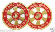 NEW USMC United States Marine Corps cut out Challenge Coin. 3092