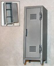 "LOCKER ""Wardrobe"" w/ Working Door-1:18 Scale Accessory for 3-3/4"" Action Figures"