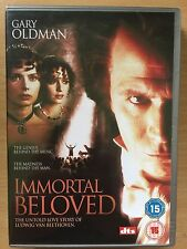 Gary Oldman Isabella Rossellini IMMORTAL BELOVED ~ 1994 Beethoven Biopic UK DVD