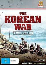 The Korean War - Fire And Ice (DVD, 2013, 2-Disc Set) - Factory Sealed