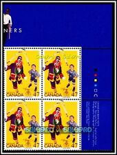 CANADA 2001 CANADIAN WISH NETWORK SHRINERS FV FACE $1.88 MNH STAMP CORNER BLOCK