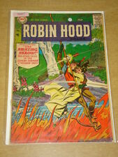 ROBIN HOOD TALES #8 VG (4.0) DC COMICS APRIL 1957 **