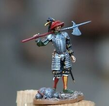 Toy lead soldier, German lance-knight,hand painted,detailed,rare