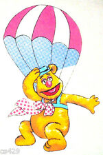 "16"" MUPPETS FOZZIE FOZZY BEAR  BALLOON CHARACTER WALL SAFE FABRIC DECAL CUT OUT"