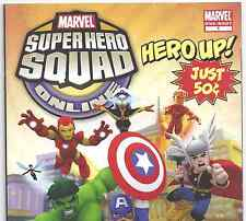Marvel Super Hero Squad Online #1 Avengers & X-Men from June 2011 in F/VF