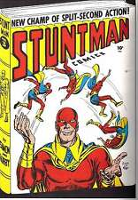 STUNTMAN #3 (1946) PHOTOCOPY COMIC BOOK - JACK KIRBY