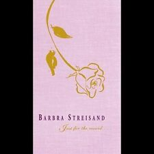 Just for the Record by Barbra Streisand (CD Box Set, Jul-2003, 4 Discs and book)