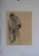 STEINLEN THEOPHILE LITHOGRAPHIE SIGNÉE NUM/400 SIGNED HANDNUMB/400 LITHOGRAPH