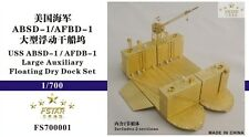 Five Star 1/700 FS700001 USS ABSD-1/AFDB-1 Large Auxiliary Floating Dry Dock Set