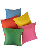 Solid Color Cushion Cover 12x12 Inch - Pack Of 5