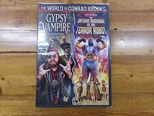 Gypsy Vampire And Saturn Avenger Vs.The Terror Robot DVD NEW Conrad Brooks