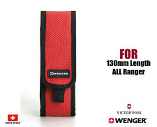 Wenger Swiss Army Red Nylon Belt Pouch For 130mm Victorinox Ranger Knife