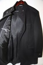 Hugo Boss Black Label 'The Sintrax5' Wool Cashmere Coat Size 46 R