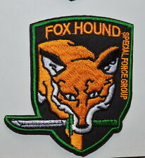 Metal Gear Solid Rising- Militaires Sans Frontieres & Foxhound Iron On patch
