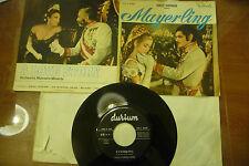 """MARCELLO MINERBI"""" MAYERLING- disco 45 giri DURIUM Italy 1968"""" OST"""