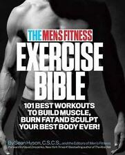 NEW Men's Fitness Exercise Bible by Sean Hyson BOOK (Paperback) Free P&H