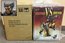 Wolverine Vs Sabretooth #187/300 EXCLUSIVE Sideshow Diorama Statue x-men xm koto