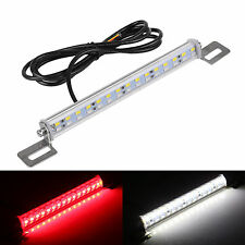 Car 30 LED 7.5w Light Bar Brake tail Reverse Rear License Plate Lamp Red White
