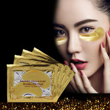 5 Pairs Gold Moisturizing Skin Care Gel Collagen EYE Hydrating Face Masks New HT