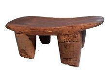 "African Old Senufo Low Milk Stool  I Coast 15.75"" w by 7"" h # 25"