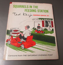 1967 Squirrels In The Feeding Station by Ted Key HC/DJ FN+/VG+ Cartoons Hazel