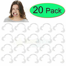 20 x Extra Replacement Mouthpieces For Use With Speak Out Board Game *NEW