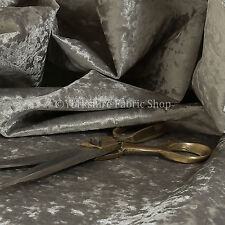 Durable Soft Shine Luxury Interior Furnishing Velvet Upholstery Fabric In Silver