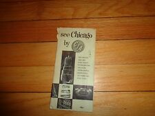 See Chicago by CTA Chicago Transit Authority Brochure 1953