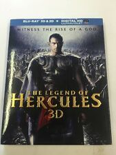 The Legend of Hercules (Blu-ray Disc, 2014, 3D; Includes Digital Copy; UltraViol