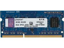 Kingston 4GB 204-Pin DDR3 SO-DIMM DDR3L 1600 (PC3L 12800) Laptop Memory Model KV