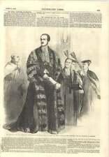 1856 il Principe Cancelliere DELEGAZIONE Cambridge University L'indirizzo Queen