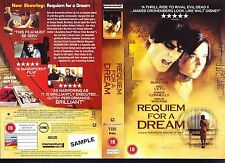 Requiem For A Dream, Jared Leto Video Promo Sample Sleeve/Cover #15882