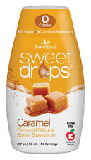CARAMEL Sweet Drops Liquid Stevia SweetLeaf 1.7 oz 1 pack Zero Calories